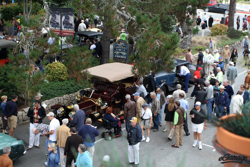 Monterey car week Carmel by the Sea: Ocean Ave