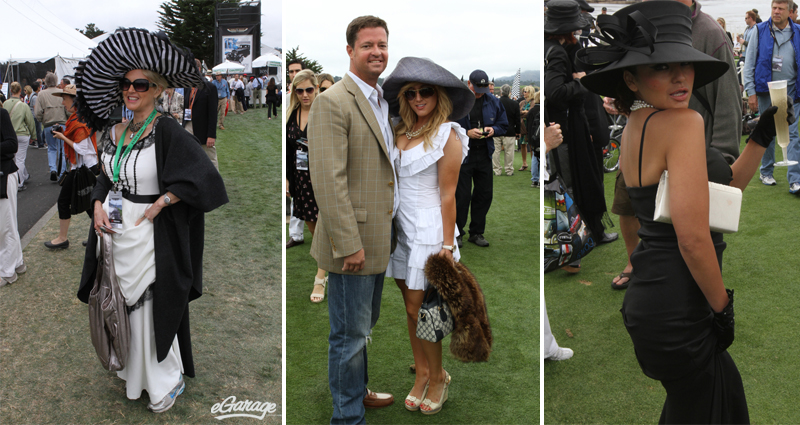 Pebble Beach Big Hats Pebble Beach: Passion for Fashion