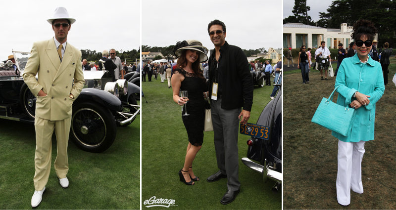 Pebble Beach Concours fashion Pebble Beach: Passion for Fashion