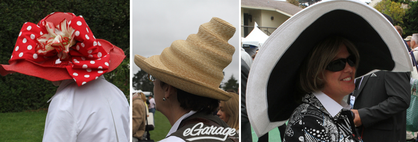 Pebble Beach HATS Pebble Beach: Passion for Fashion