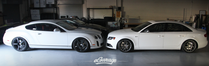 Audi S4 Bentley Supersports Audi S4 with HRE P40S