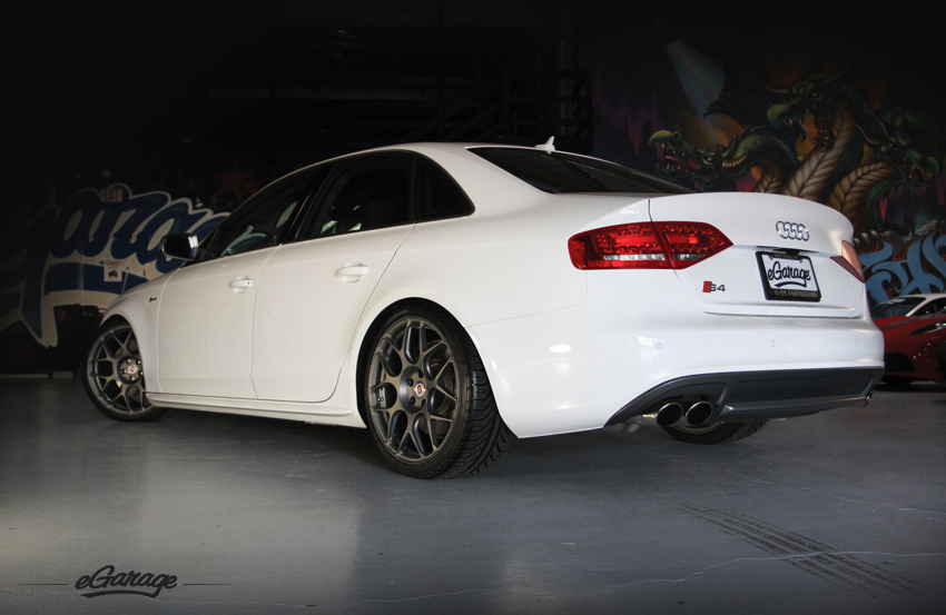 Audi S4 Rear Audi S4 with HRE P40S