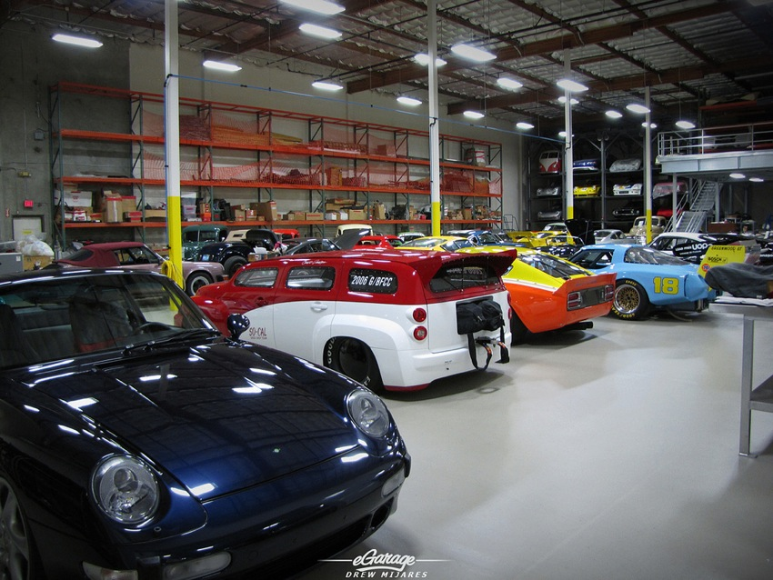 Canepa Car Storage Bruce Canepa: Collector of Fast