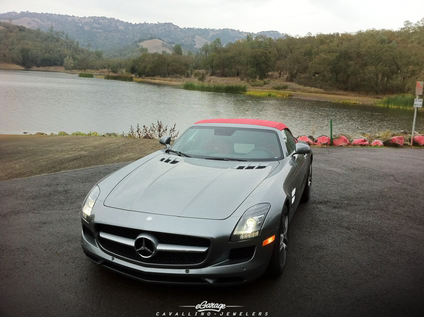 Mercedes SLS convertible Robb Report 2012 Car of the Year