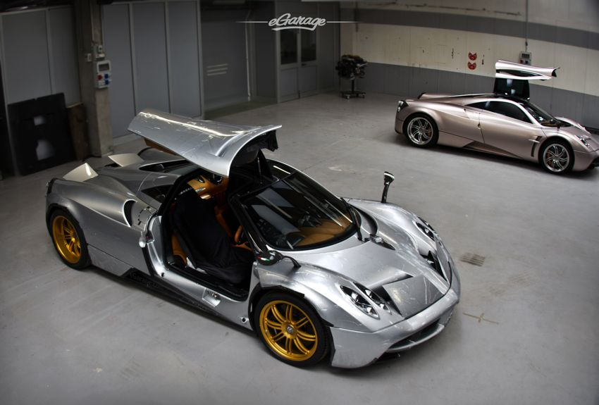 Silver Pagani Huayra  Pagani Huayra in the USA