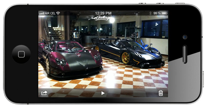 Pagani Factory iphone Pagani Factory