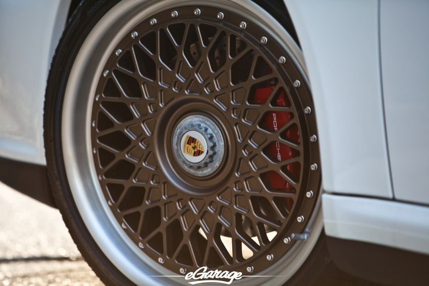 Porsche HRE Vintage 501 Wheels close up Porsche 911: Daily Driver