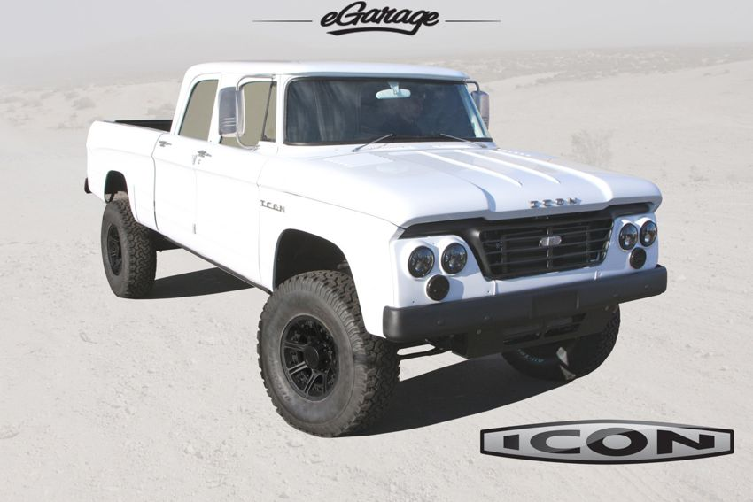 1965 DODGE D200 REFORMER Dodge D200 by ICON