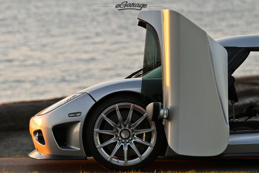 Koenigsegg doors The Sun Sets on a Supercar: Koenigsegg CCX
