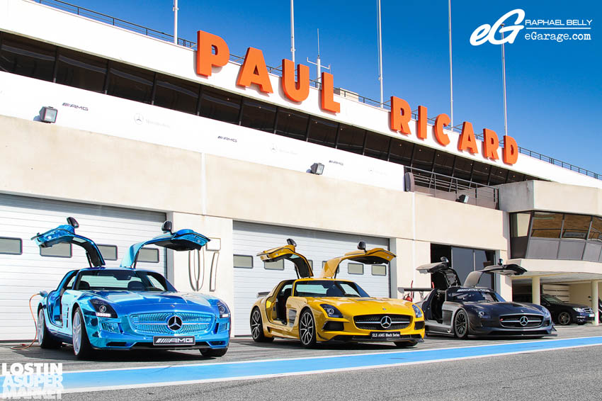 SLS AMG Paul Ricard17 Mercedes Benz SLS AMG at Paul Ricard