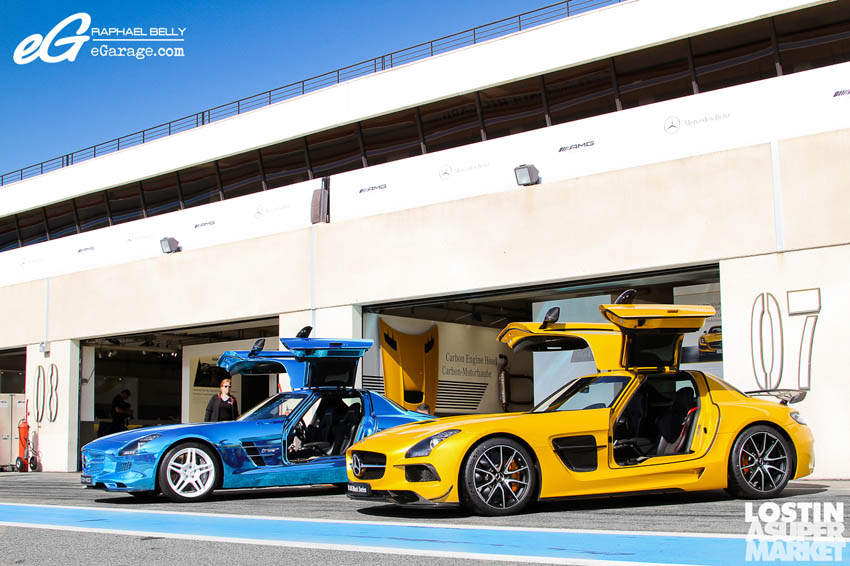 SLS AMG Paul Ricard49 Mercedes Benz SLS AMG at Paul Ricard