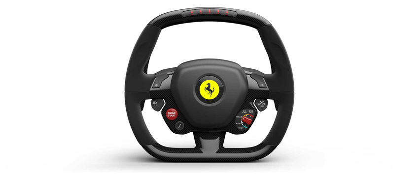 ct laferrari architecture 06 steering wheel LaFerrari