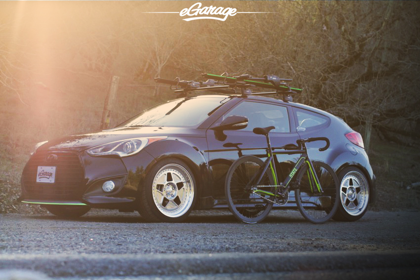 Hyundai Veloster TURBO State Bicycle Co.