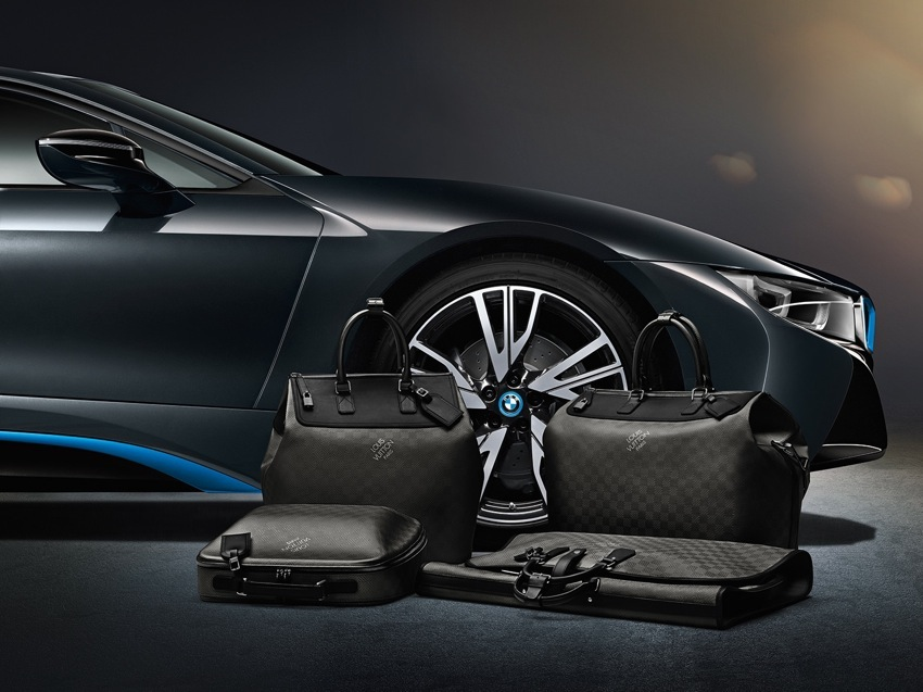 P90144148 highRes BMW i8 Louis Vuitton Luggage