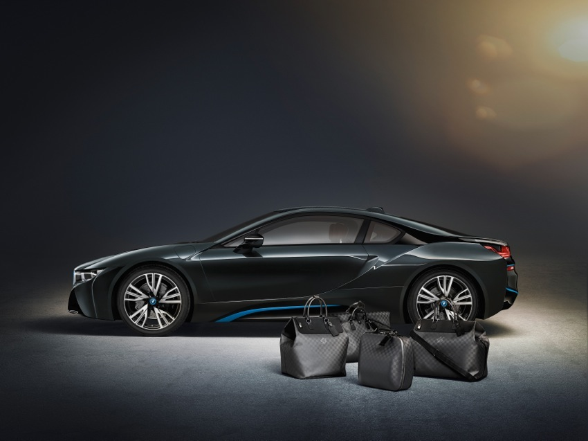 P90144151 highRes BMW i8 Louis Vuitton Luggage