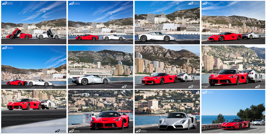 Screen Shot 2014 03 20 at 4.52.44 PM LaFerrari and Enzo