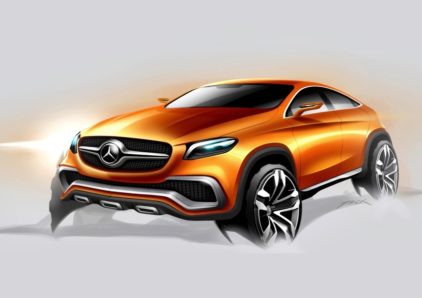 14C294 01 Mercedes Benz Concept Coupe SUV