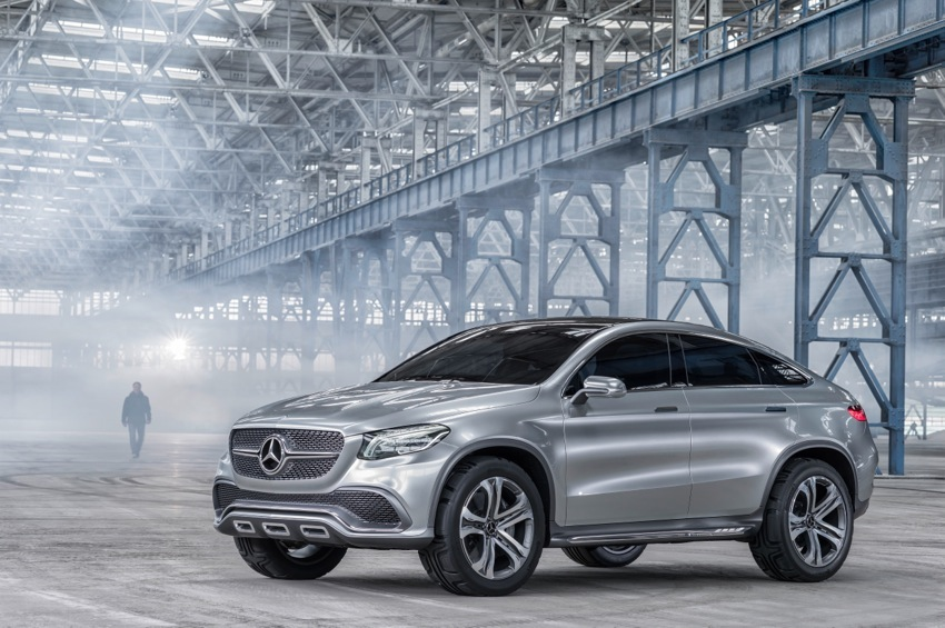14C304 39 Mercedes Benz Concept Coupe SUV