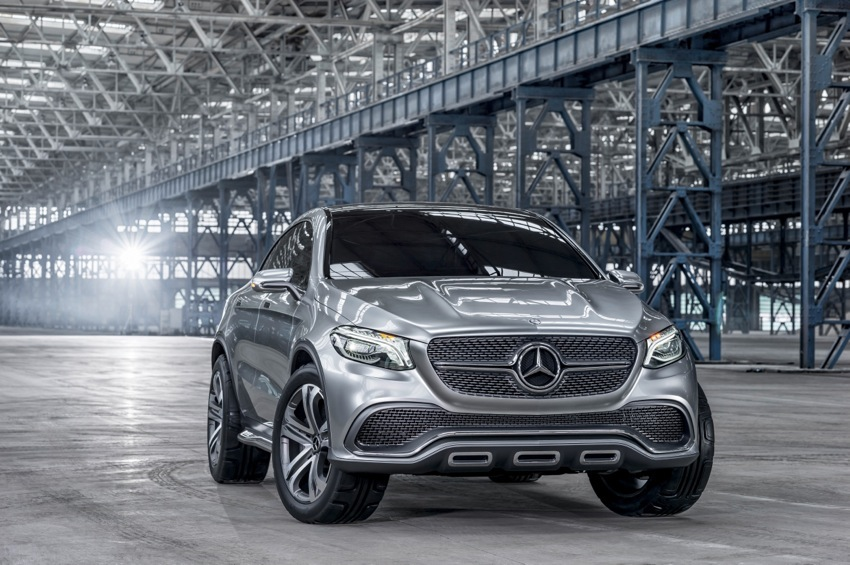 14C304 63 Mercedes Benz Concept Coupe SUV