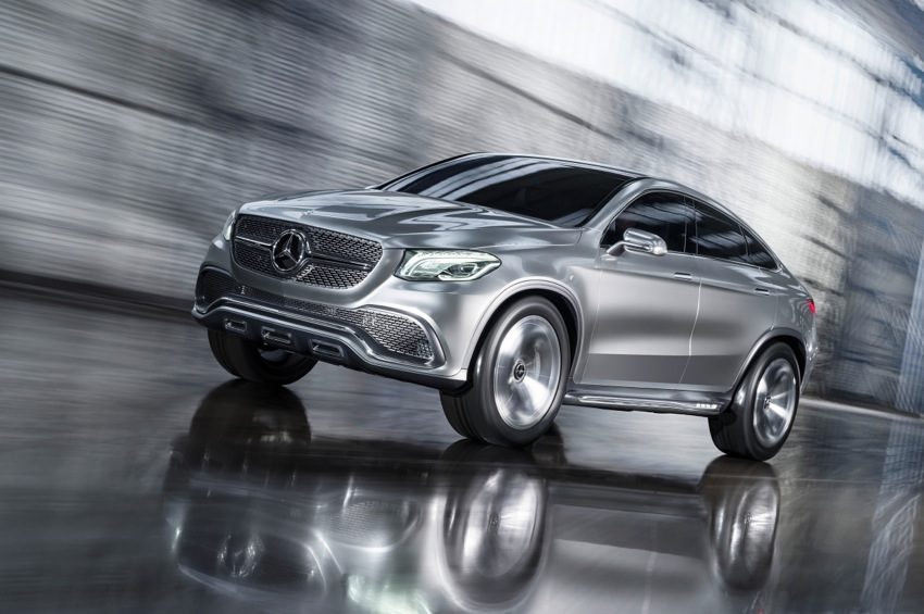 14C304 72 Mercedes Benz Concept Coupe SUV